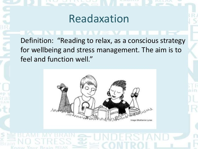 Teenage Stress And The Science Of Readaxation