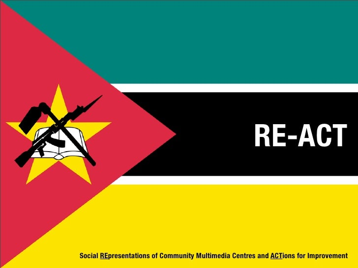 RE-ACT   Social REpresentations of Community Multimedia Centres and ACTions for Improvement