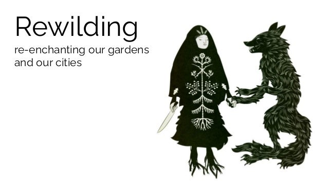 Rewilding re-enchanting our gardens and our cities