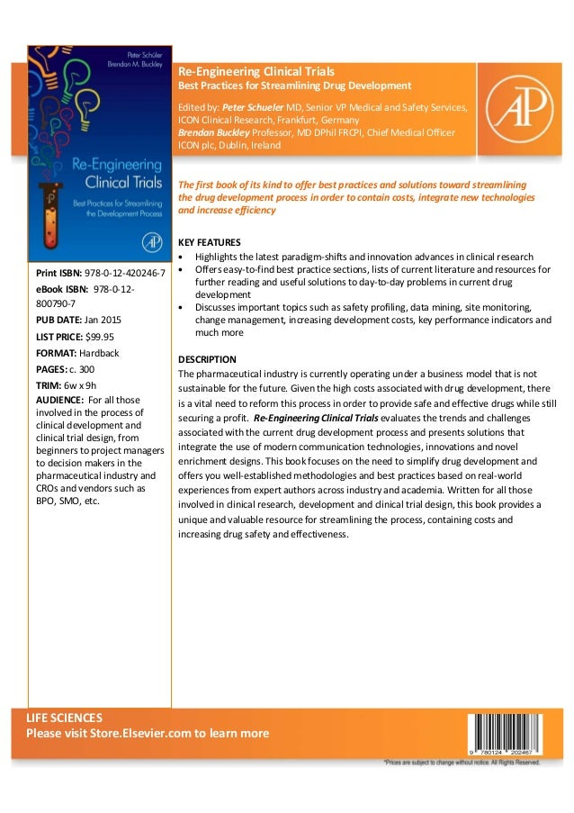 Re engineer clinical trials book-elsevier