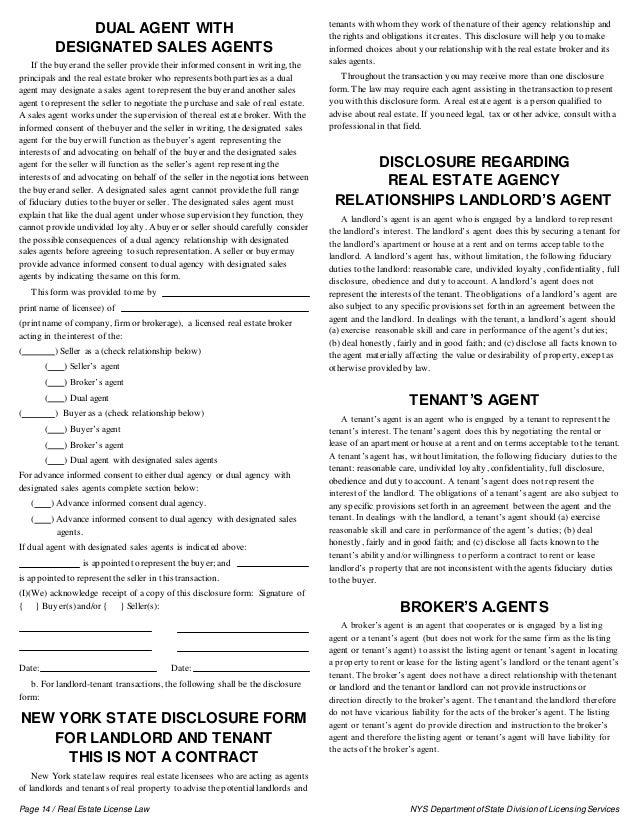 Real Estate License Law