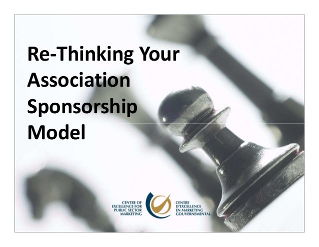Re-Thinking YourAssociationSponsorshipModel