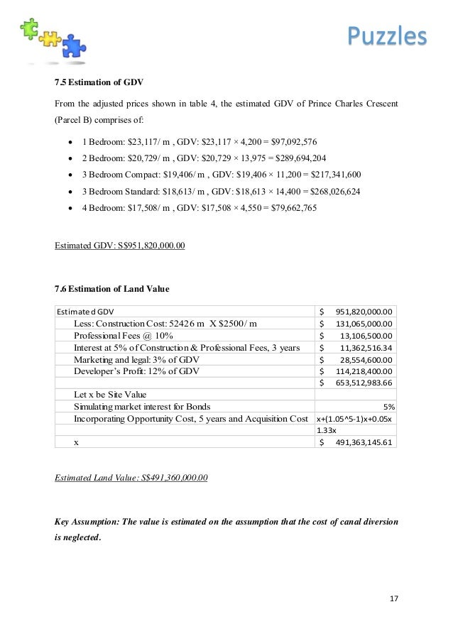 Valuation Report Template. residential property valuation report ...