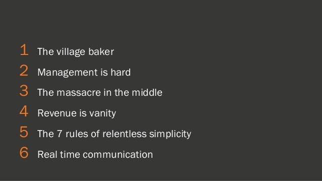 RELENTLESS SIMPLICITY [INBOUND 2014] Slide 2