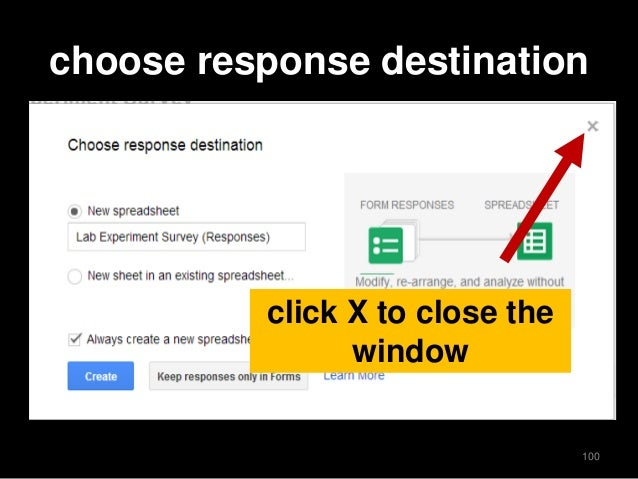 how to create an online survey using google forms