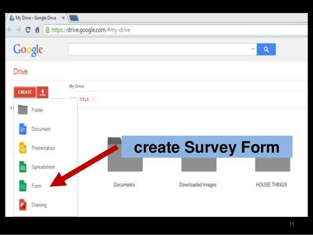 How to create surveys using google forms click form create survey form 11 ccuart Choice Image
