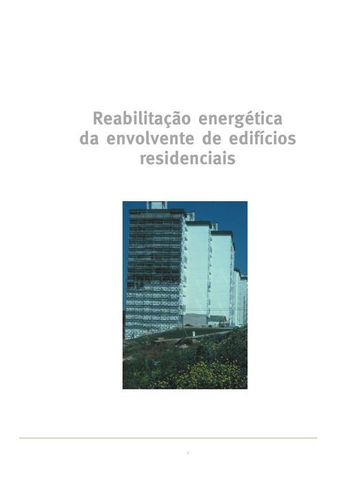 Reabilitação Energética Edifícios Residenciais Slide 2