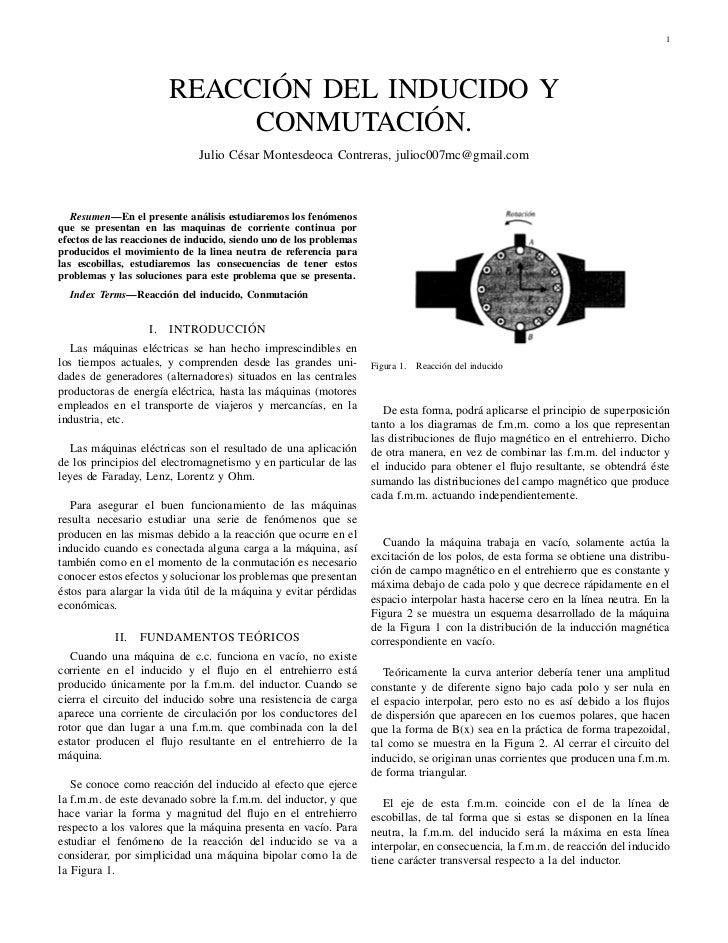 1                         REACCIÓN DEL INDUCIDO Y                              CONMUTACIÓN.                               ...