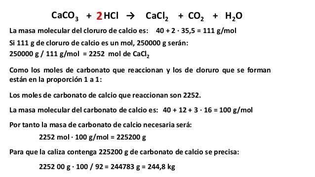 hcl caco3 Calcium carbonate and hydrochloric acid surface area affecting the reaction rate introduction in this experiment calsium carbonate (caco3) will be put into a flask and then mixed with hydrochloric acid (hcl.