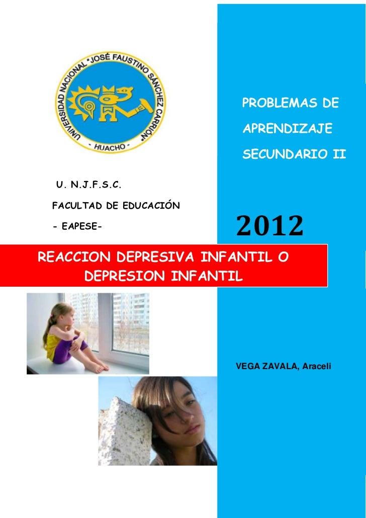 PROBLEMAS DE                          APRENDIZAJE                          SECUNDARIO II  U. N.J.F.S.C. FACULTAD DE EDUCAC...