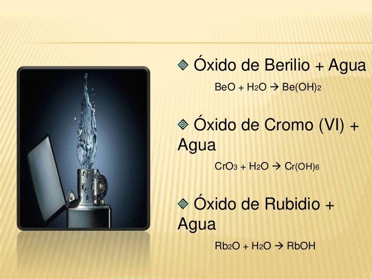 Heptóxido de Dibromo + Oxigeno<br />Br2O7 + O2 N.R<br />Trióxido de Diyodo + Oxigeno<br />I2O3 + O2  I2O5<br />Clorur...
