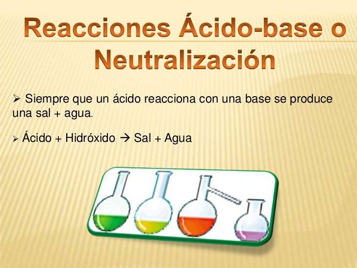 Reacciones de Doble Desplazamiento<br /><ul><li>Un componente  dos sustancias  uno positivo y uno negativo.
