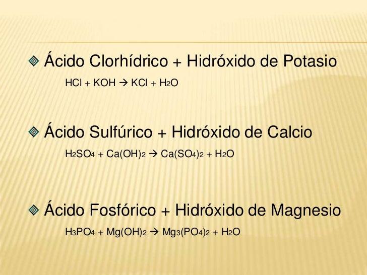 El componente positivo de cada sustancia se combina con el negativo de la otra.</li></li></ul><li>Nitrato de Plata + Cloru...