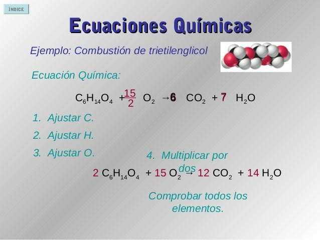 Ajuste de ecuaciones quimicas online dating 7