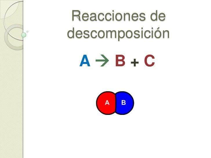 d) Compuesto + Compuesto<br />ii) Óxido no metálico + Agua<br /><ul><li>Ejemplo2: Pentóxido de dibromo + Agua</li></ul>Br2...