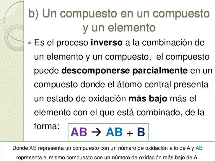 a) Un compuesto en 2 elementos<br />Se debe tener siempre en cuenta que los elementos que en su estado libre son diatómico...