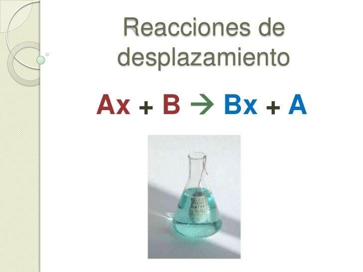 c) Un compuesto en 2 compuestos<br />ii) Descomposición de oxácidos<br /><ul><li>Ejemplo 2: Ácido perbrómico</li></ul>H Br...