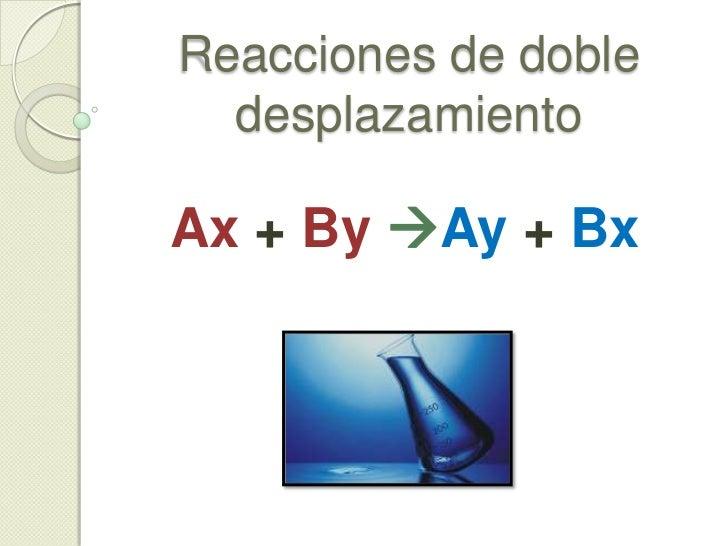 Ejemplos:<br /><ul><li>Ejemplo3: Sulfito de hierro (III) + bario</li></ul>Fe2 (SO3)3 + Ba Ba (SO3) + Fe<br />Aquí el bari...