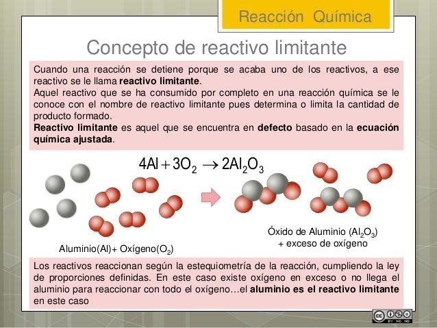 Cuando una reacción se detiene porque se acaba uno de los reactivos, a ese reactivo se le llama reactivo limitante. Aquel ...