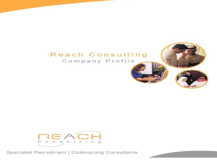 <li></li><li>Contents 1->  About Us 2-> Why use Reach Consulting  3-> Our Services  4-> Specialized Indu...