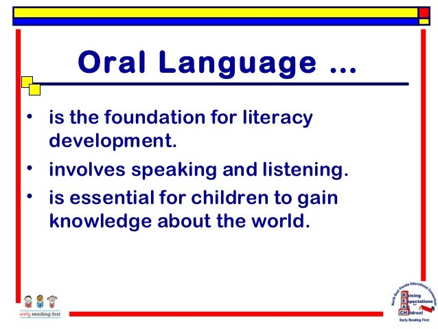 Oral Language Literacy 67