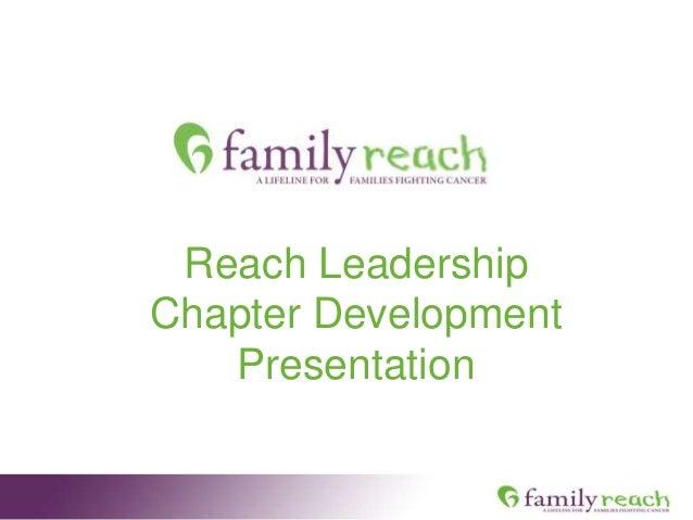 Reach Leadership Chapter Development Presentation