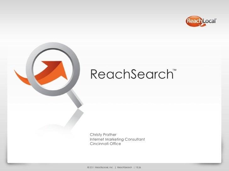 Christy PratherInternet Marketing ConsultantCincinnati Office