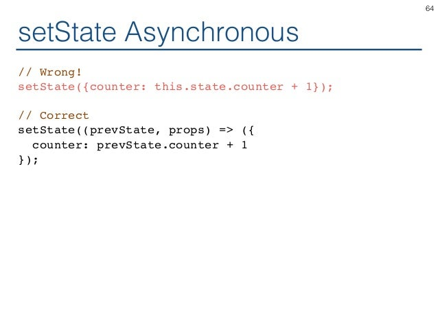 ReactJS for Programmers