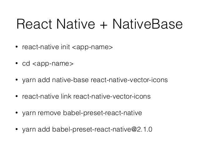 React Native One Day