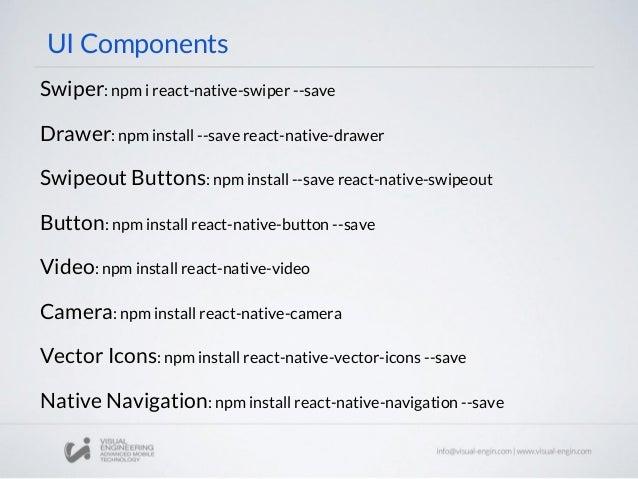 Workshop 25: React Native - Components