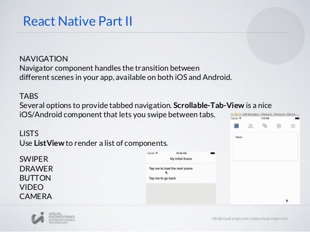 Workshop 26: React Native - The Native Side
