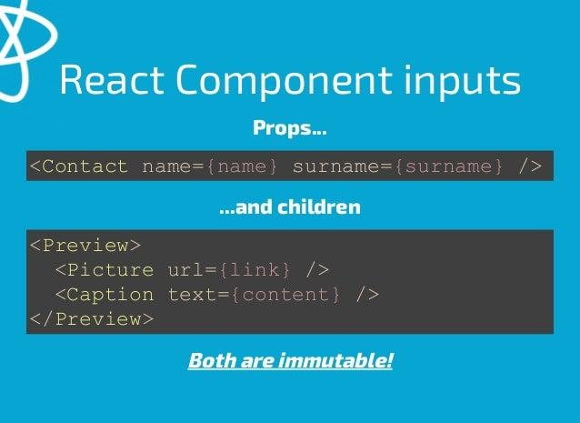 React vs Angular2