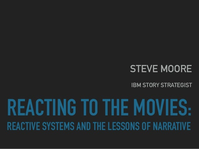 REACTING TO THE MOVIES:
