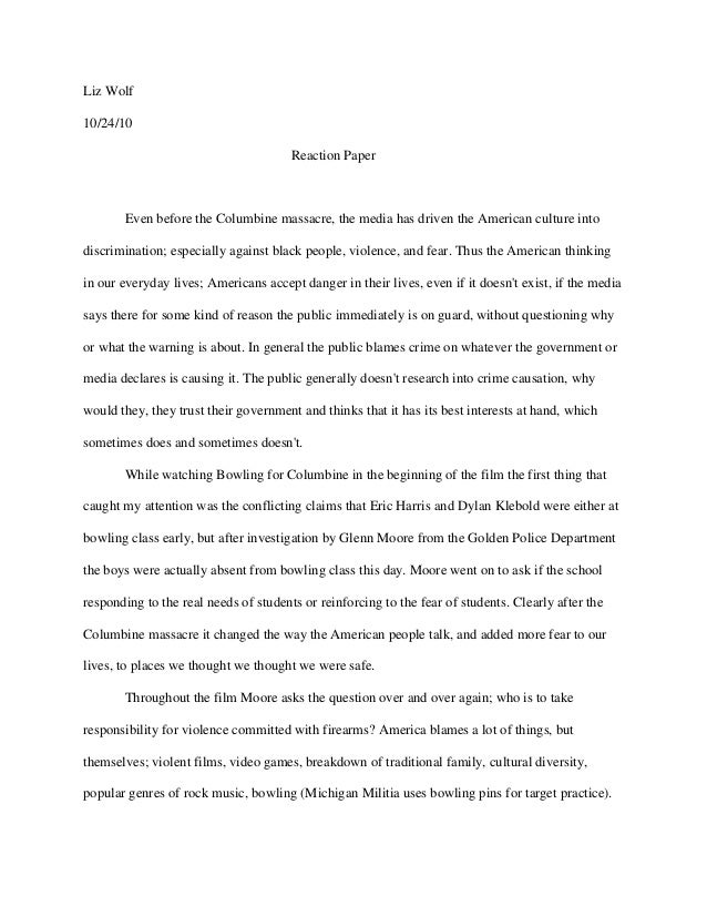reaction paper to mamasapano massacre Boston massacre: boston massacre, (march 5 by the british government during the early to mid-18th century the imposition of those duties on lead, glass, paper, paint the colonial response took the form of harassment of british officials and vandalism.