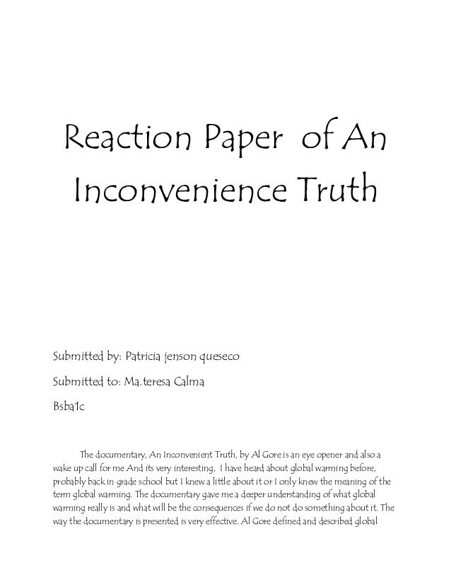 an inconvenient truth summary 3 An inconvenient truth: analysis given by other books on the topic and yet as a user-friendly introduction to global warming and a succinct summary of many of the central arguments laid out in those other volumes.