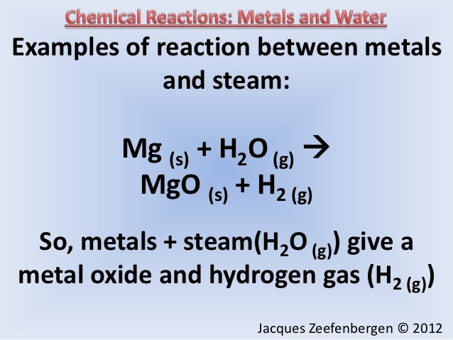 the reactions between acids and metals essay Essay writing guide how do acids react with metals we have done this experiment and observed how the reaction between acids and metals is.