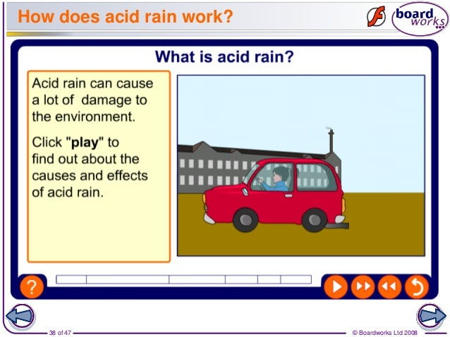 how acid rain forms and its damaging effects Nitrogen dioxide comes from the burning of fossil fuels (like gasoline)  what  are the health effects of so2 and no2  acid rain is formed high up in the  atmosphere when so2 and no2 combine with water  causes damage to  vegetation.