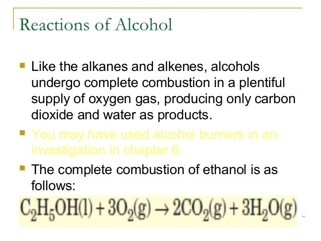 Write A Balanced Equation For The Combustion Of Ethanol Calculation