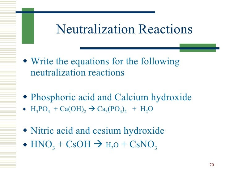 write a net ionic equation for the reaction between nitric acid and calcium hydroxide