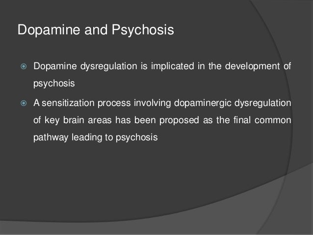 a study of the effects of cocaethylene on the development of psychosis Pimavanserin: relief from psychosis in dementia, without devastating side-effects a new kind of antipsychotic has been found to relieve terrifying and disturbing symptoms suffered by millions of .
