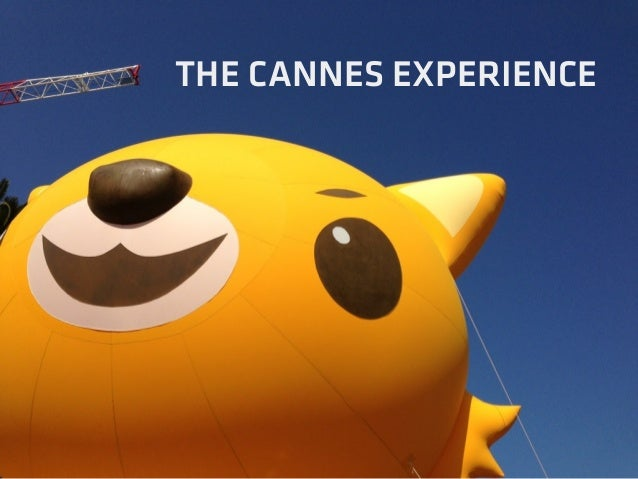 THE CANNES EXPERIENCE