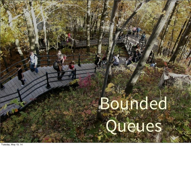 Bounded Queues Tuesday, May 13, 14