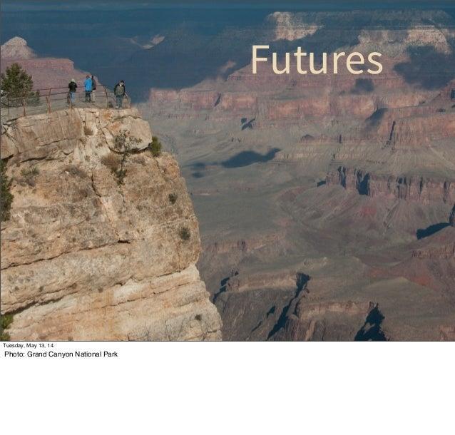 Futures Tuesday, May 13, 14 Photo: Grand Canyon National Park