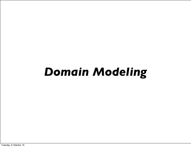 From functional to Reactive - patterns in domain modeling Slide 3