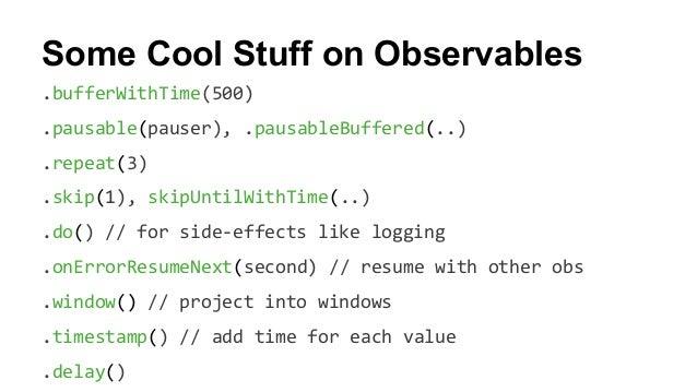 Functional Reactive Programming in JavaScript