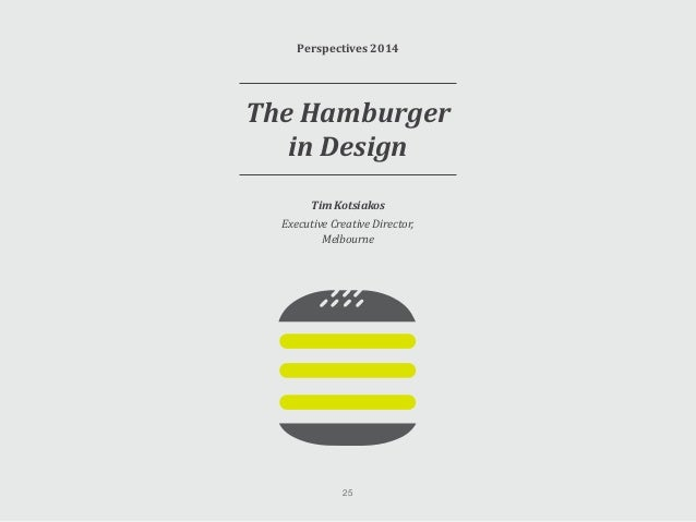 The Hamburger in Design Take a close look at some of the apps you use on a regular basis. You will probably notice a numbe...