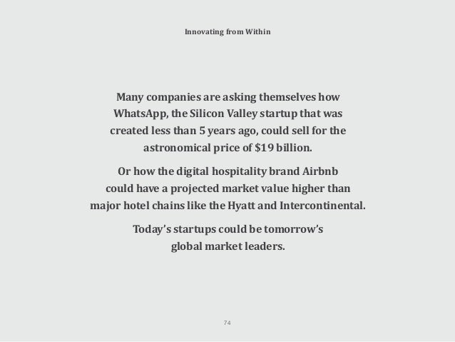 So what can we learn from the approach and culture of these hugely successful startups to help our own companies become mo...