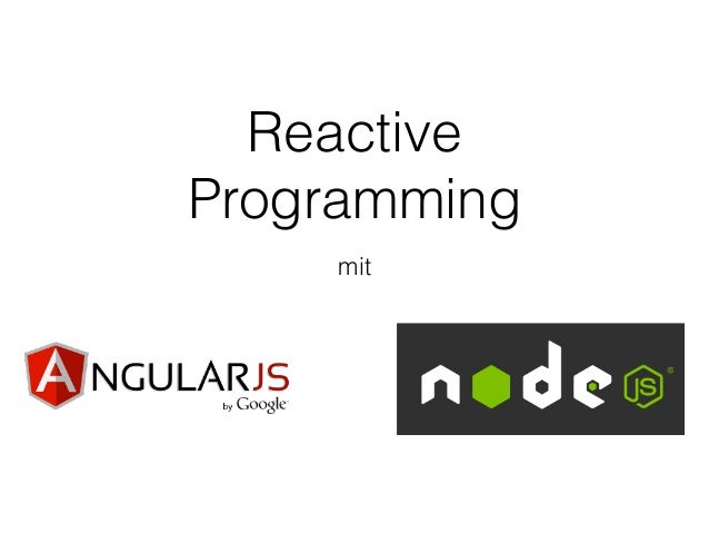 Reactive Programming mit