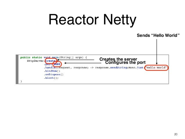 Reactive Web 101: WebFlux, WebClient, and Reactor Netty