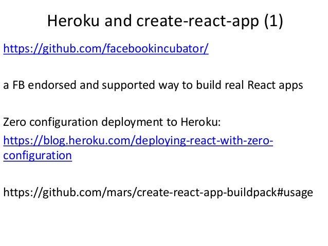 React Express Heroku